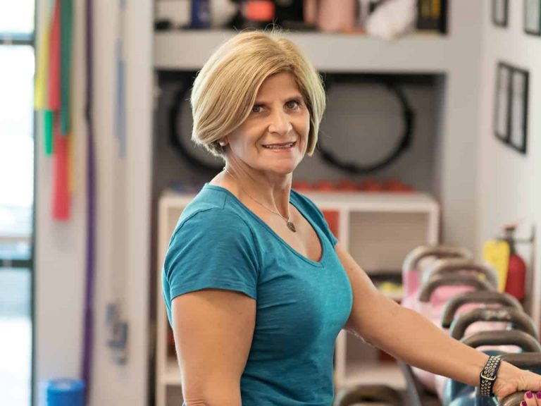 About Us - Sharon Goodman - Owner Old-School Fitness